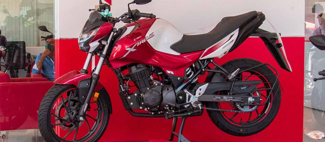 Hero xtreme 160R review by Bangalore Bikers 2