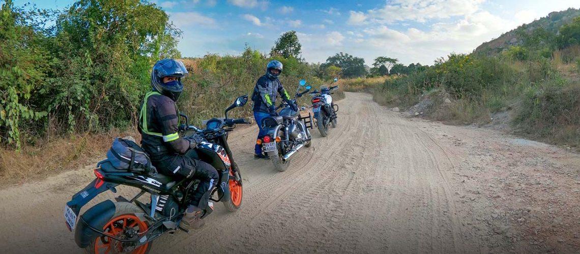 Off-road destination on kanakpura road 35 km from bangalore by bangalore bikers 01